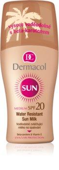 Dermacol Sun Water Resistant leite solar à prova de água SPF 20