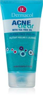 Dermacol Acneclear exfoliant purifiant visage pour peaux à problèmes