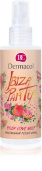 Dermacol Body Love Mist Ibiza Party odišavljeno pršilo za telo