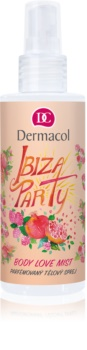 Dermacol Body Love Mist Ibiza Party spray de corp parfumat