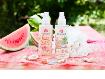 Dermacol Body Love Mist Ibiza Party parfümiertes Bodyspray
