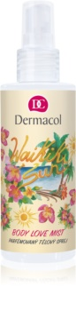 Dermacol Body Love Mist Waikiki Sun Scented Body Spray