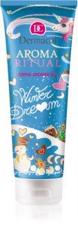 Dermacol Aroma Ritual sprchový gel s vůní vanilky a kokosu