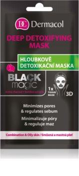 Dermacol Black Magic sheet maska za detoksikaciju