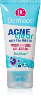 Dermacol Acneclear gel-crème hydratant pour peaux à problèmes, acné