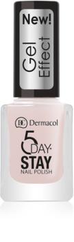 Dermacol 5 Day Stay lak na nehty s gelovým efektem