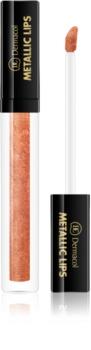 Dermacol Metallic Lips metalický tekutý rúž