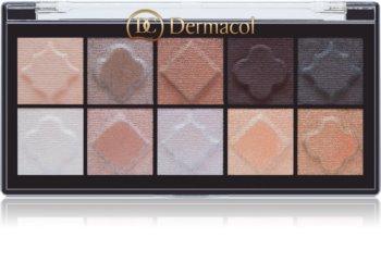 Dermacol Matt & Pearl paletka očných tieňov