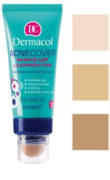 Dermacol Acnecover Make-up und Korrektor für problematische Haut, Akne