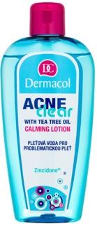 Dermacol Acneclear apa pentru purificarea tenului pentru pielea problematica
