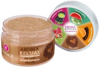 Dermacol Aroma Ritual opojný tělový peeling