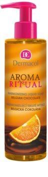Dermacol Aroma Ritual harmonizující tekuté mýdlo s pumpičkou
