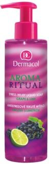 Dermacol Aroma Ritual антистресове рідке мило з дозатором