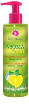 Dermacol Aroma Ritual poživljajoče tekoče milo z dozirno črpalko