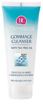 Dermacol Cleansing tisztító gél az arcra ausztráliai teafa kivonattal