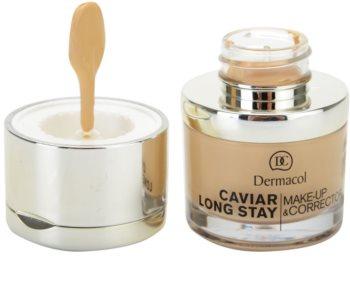 Dermacol Caviar Long Stay Langaanhoudende Make-up met kaviaar extract en perfectie concealer