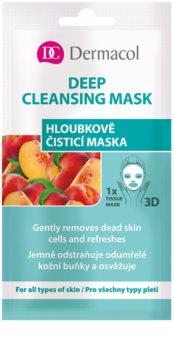 Dermacol Deep Cleasing Mask Textile 3D tiefreinigende Maske