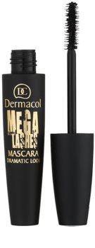 Dermacol Mega Lashes Dramatic Look maskara za volumen in privihanje trepalnic