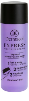 Dermacol Express odstranjevalec laka za nohte brez acetona
