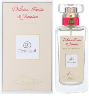 Dermacol Delicious Freesia & Geranium parfumska voda za ženske 50 ml