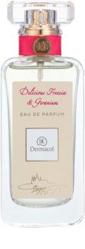 Dermacol Delicious Freesia & Geranium parfémovaná voda pro ženy 50 ml