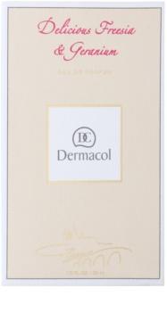 Dermacol Delicious Freesia & Geranium eau de parfum pour femme 50 ml