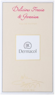 Dermacol Delicious Freesia & Geranium Eau de Parfum voor Vrouwen  50 ml