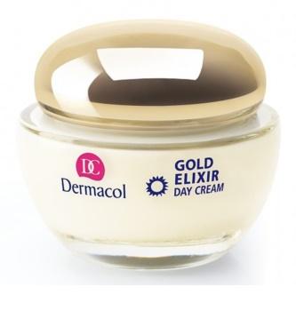 Dermacol Gold Elixir denní omlazující krém skaviárem