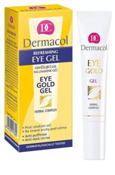 Dermacol Gold osvěžující gel proti otokům a tmavým kruhům