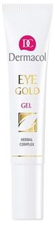 Dermacol Gold gel revigorant impotriva cearcanelor si ochilor umflati