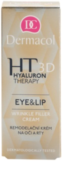 Dermacol HT 3D crème remodelante yeux et lèvres