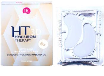 Dermacol HT 3D felfrissítő hidratáló maszk szemre