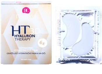 Dermacol HT 3D Verfrissende hydraterende masker  voor de Ogen