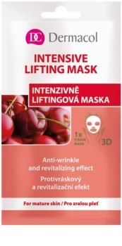 Dermacol Intensive Lifting Mask masque en tissu liftant 3D