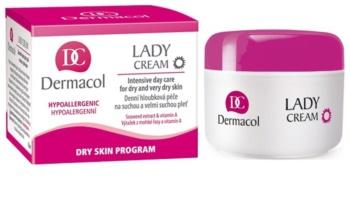 Dermacol Dry Skin Program Lady Cream dnevna krema za suho do zelo suho kožo