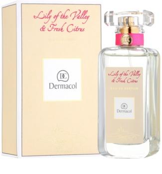 Dermacol Lily of the Valley & Fresh Citrus eau de parfum pentru femei 50 ml
