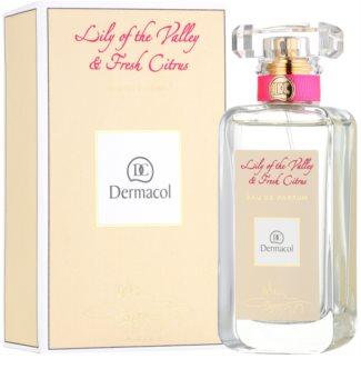 Dermacol Lily of the Valley & Fresh Citrus eau de parfum per donna 50 ml