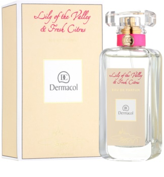 Dermacol Lily of the Valley & Fresh Citrus eau de parfum pour femme 50 ml