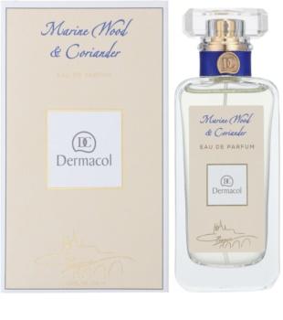 Dermacol Marine Wood & Coriander Parfumovaná voda unisex 50 ml