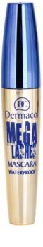 Dermacol Mega Lashes водостійка туш для вій для об'єму