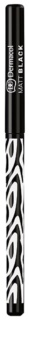 Dermacol Black Sensation Matt Black tužka na oči