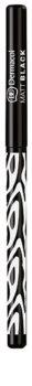Dermacol Black Sensation Matt Black контурний олівець для очей