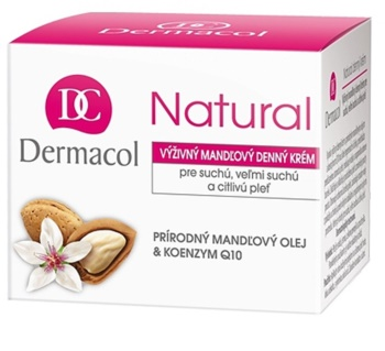 Dermacol Natural odżywczy krem na dzień do skóry suchej i bardzo suchej