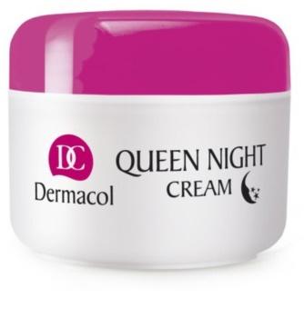 Dermacol Dry Skin Program Queen Night Cream éjszakai feszesítő ápolás száraz és nagyon száraz bőrre