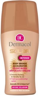 Dermacol Solar γαλάκτωμα σώματος επιτάχυνση μαύρισματος