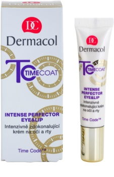 Dermacol Time Coat intenzívne zdokonaľujúci krém na oči a pery