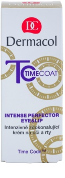Dermacol Time Coat crema pentru ochi si buze pentru protectie intensa