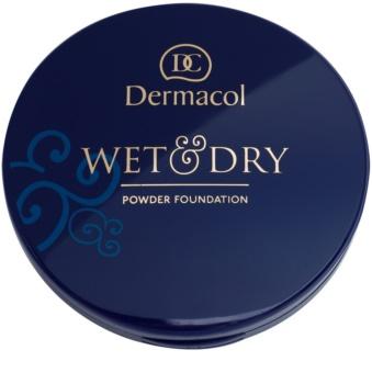 Dermacol Wet & Dry компактна тональна крем-пудра