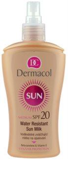 Dermacol Sun Water Resistant vodeodolné mlieko na opaľovanie SPF 20