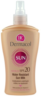 Dermacol Sun Water Resistant Waterproef Zonnebrandmelk  SPF 20